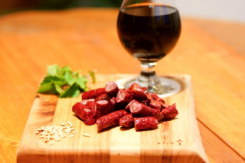 Gideon's Stout Beer Beef Stick Ends