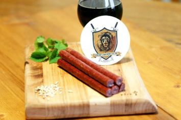 Beef Gideon's Stout Beer Sticks