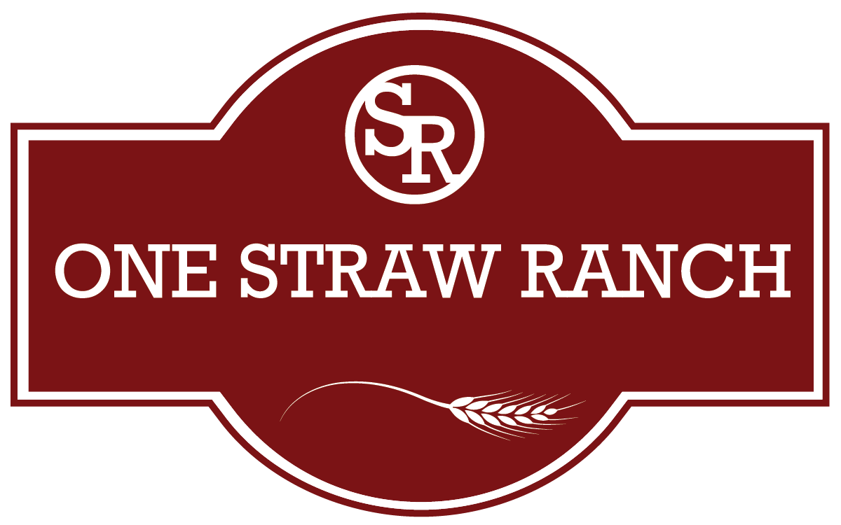 One Straw Ranch Logo