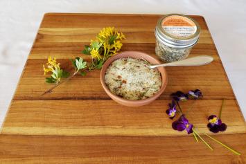 Sage + Rosemary Salt