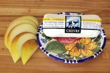 Farmstead Chevre - Rosemary & Lemon - 4 oz