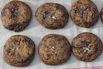 Shaved Chocolate Cookies - Take & Bake