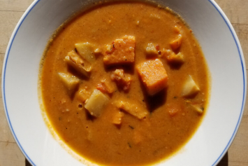 Autumn Roots African Peanut Soup