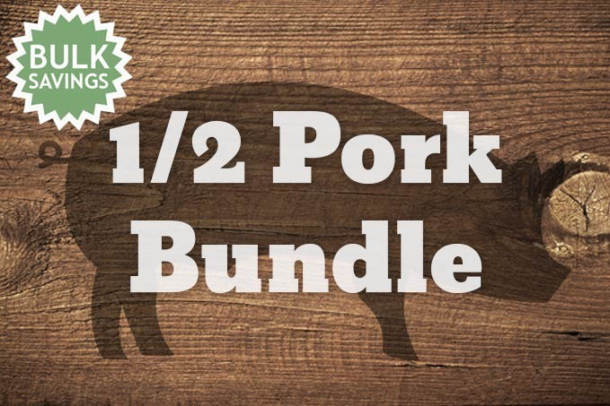 1/2 Pork Bundle (55lbs of meat)