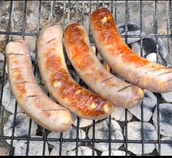 Bratwurst, Cheddar Pork