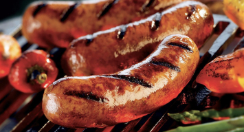Smoked Sausage with Cheese Links