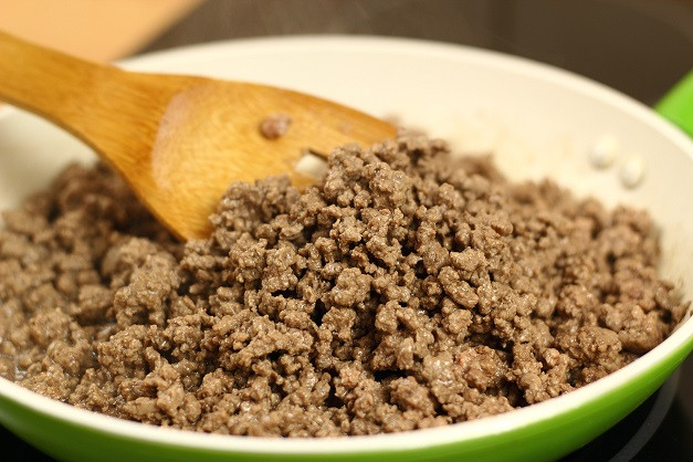 Ground Beef with Pastured Pork Fat - 1 lbs.