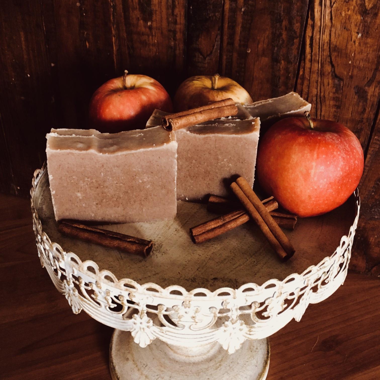 Milk Soap - Apple Pie