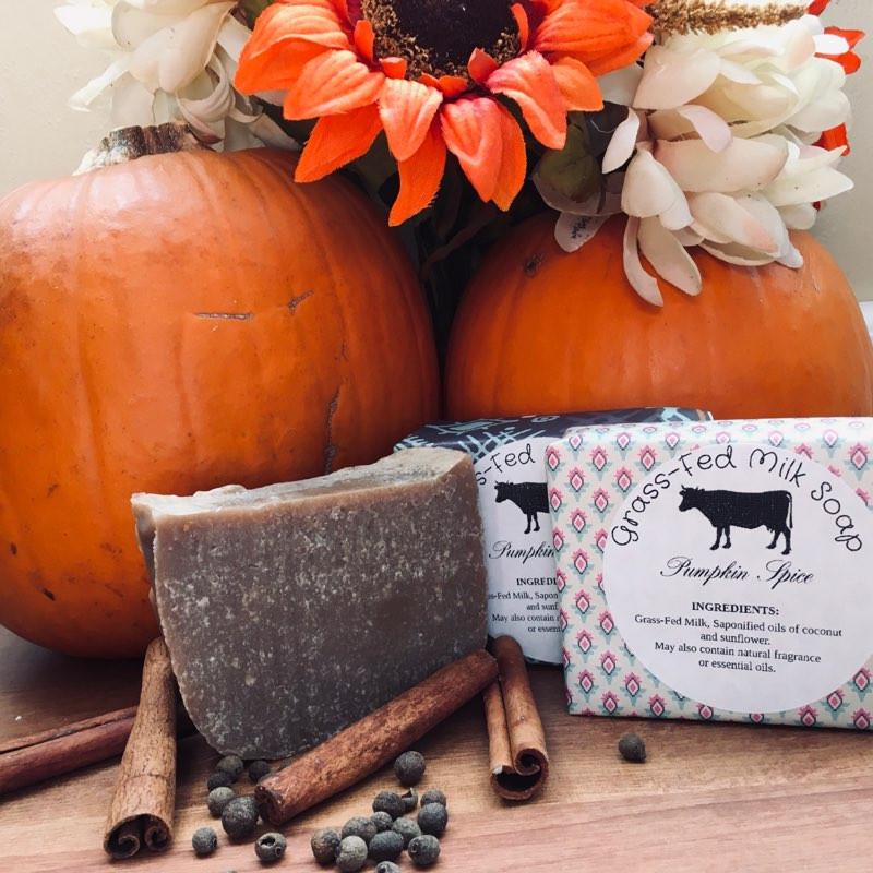 Milk Soap - Pumpkin Spice