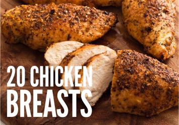 Chicken Breasts - 10 Pack Bundle