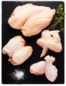 Chicken Whole Cut-up (8 Pc Cut-Up)