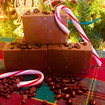 Milk Soap - Peppermint Mocha