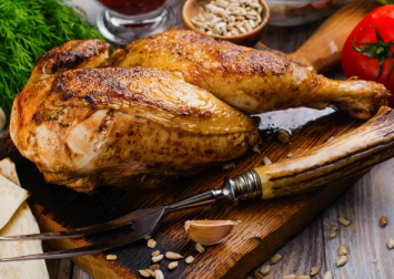 Chicken (Half) - 1.5 - 2.5 lbs.