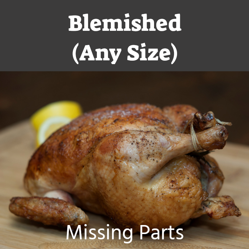 Blemished Whole Chicken - Missing Parts