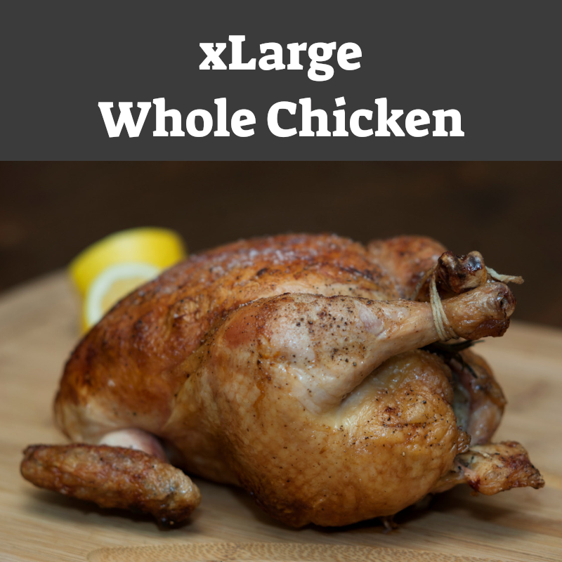 Whole  Chicken - xLarge (5.0+ lbs)