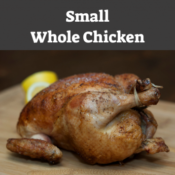 Whole Chicken - Small (2.5 - 3 lbs)