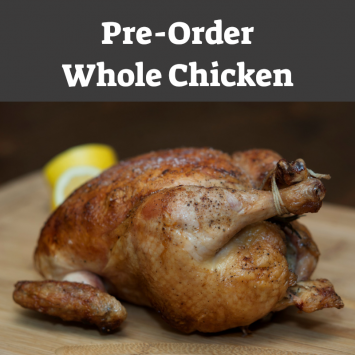 Reg. Whole Chicken - (Pre-Order, June 2021)