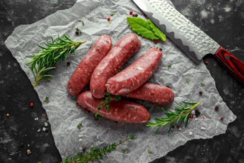 Red Wine & Garlic Sausage Link