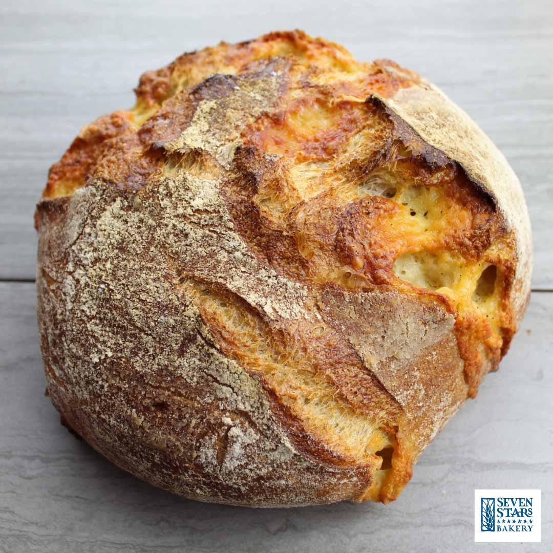 SEVEN STARS Vermont Cheddar Cheese Bread