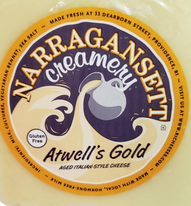 Narragansett Creamery: Atwells Gold