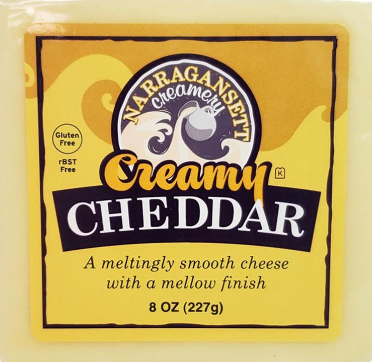 Narragansett Creamery: Creamy Cheddar