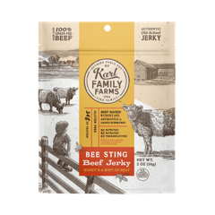Karl Family Farms Bee Sting Beef Jerky Pouch