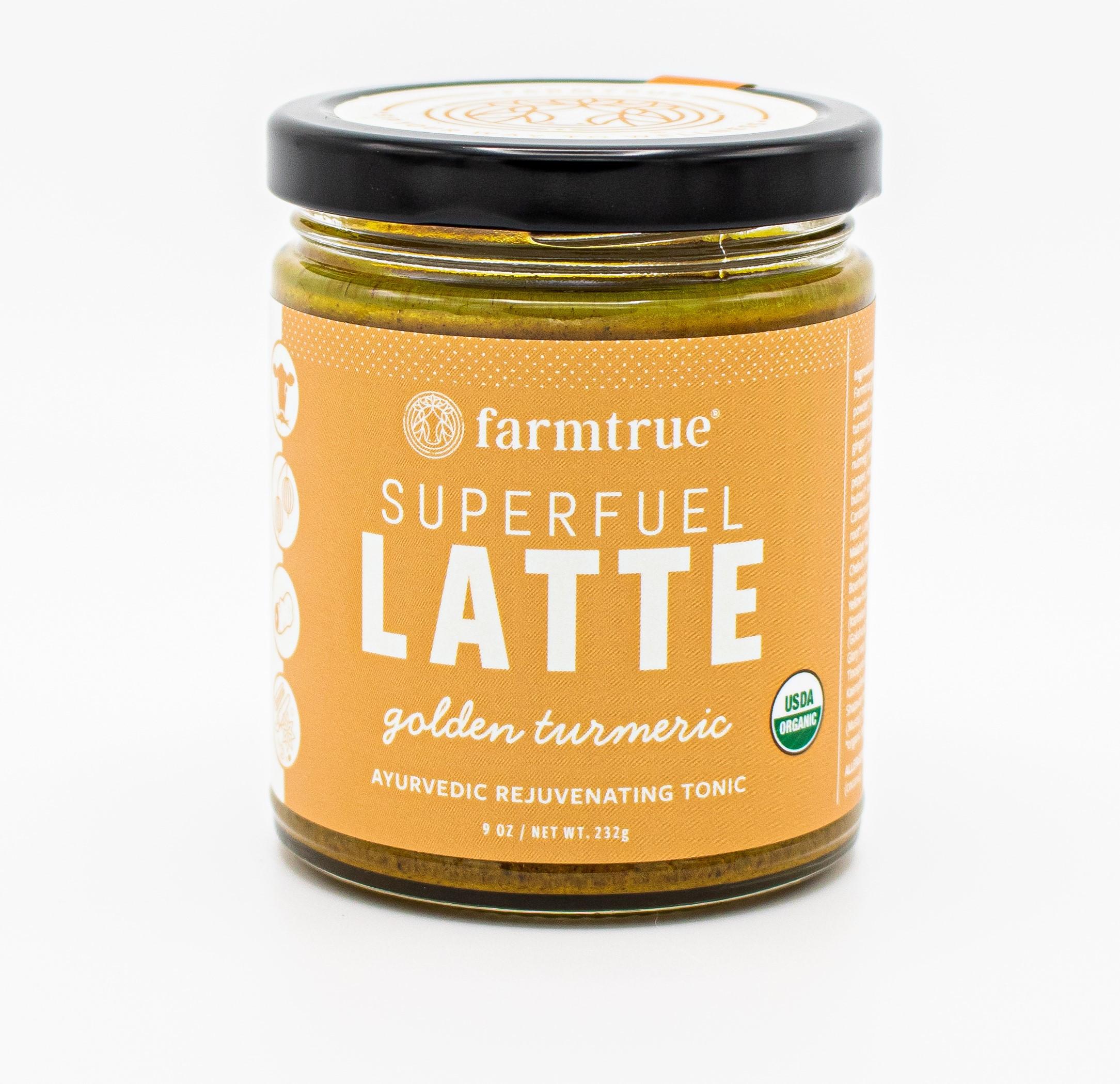 farmtrue: Golden Turmeric Superfuel Latte