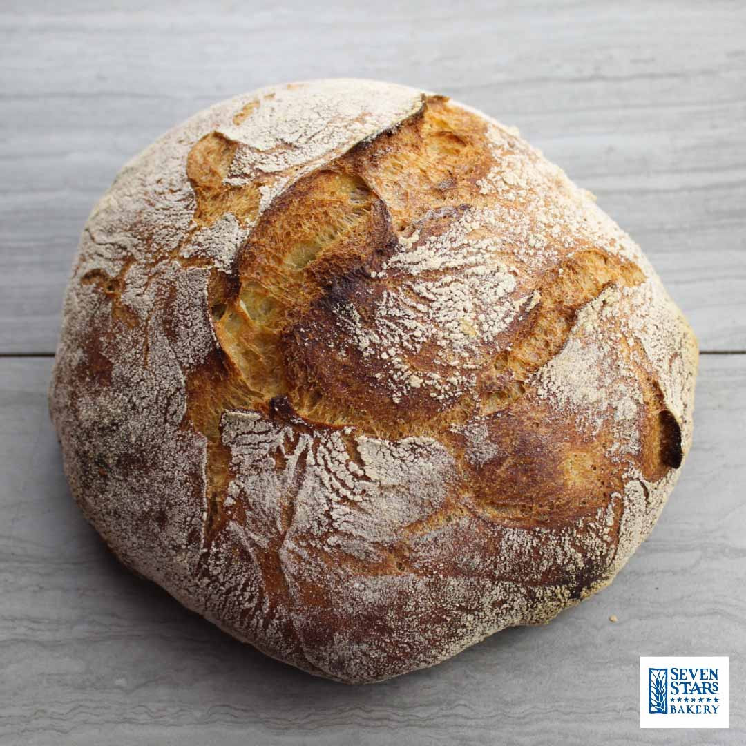 Try our Artisan Breads from Seven Stars Bakery