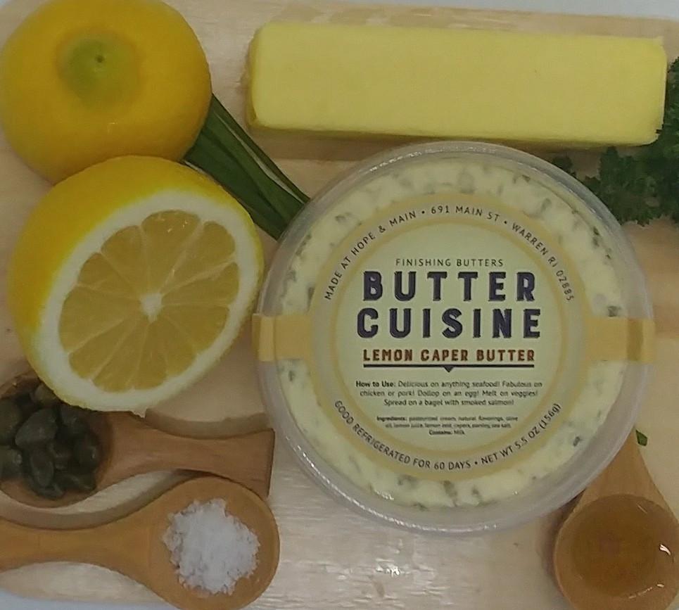 Butter Cuisine: Lemon Caper Butter