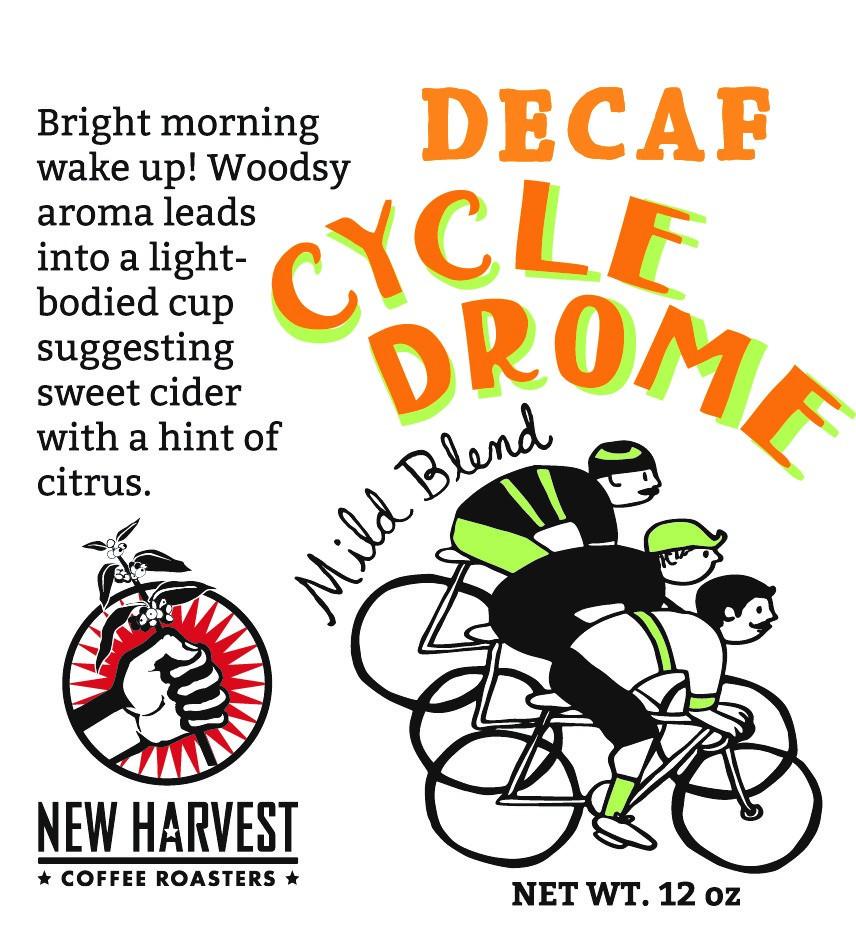 New Harvest DECAF Cycledrome Coffee