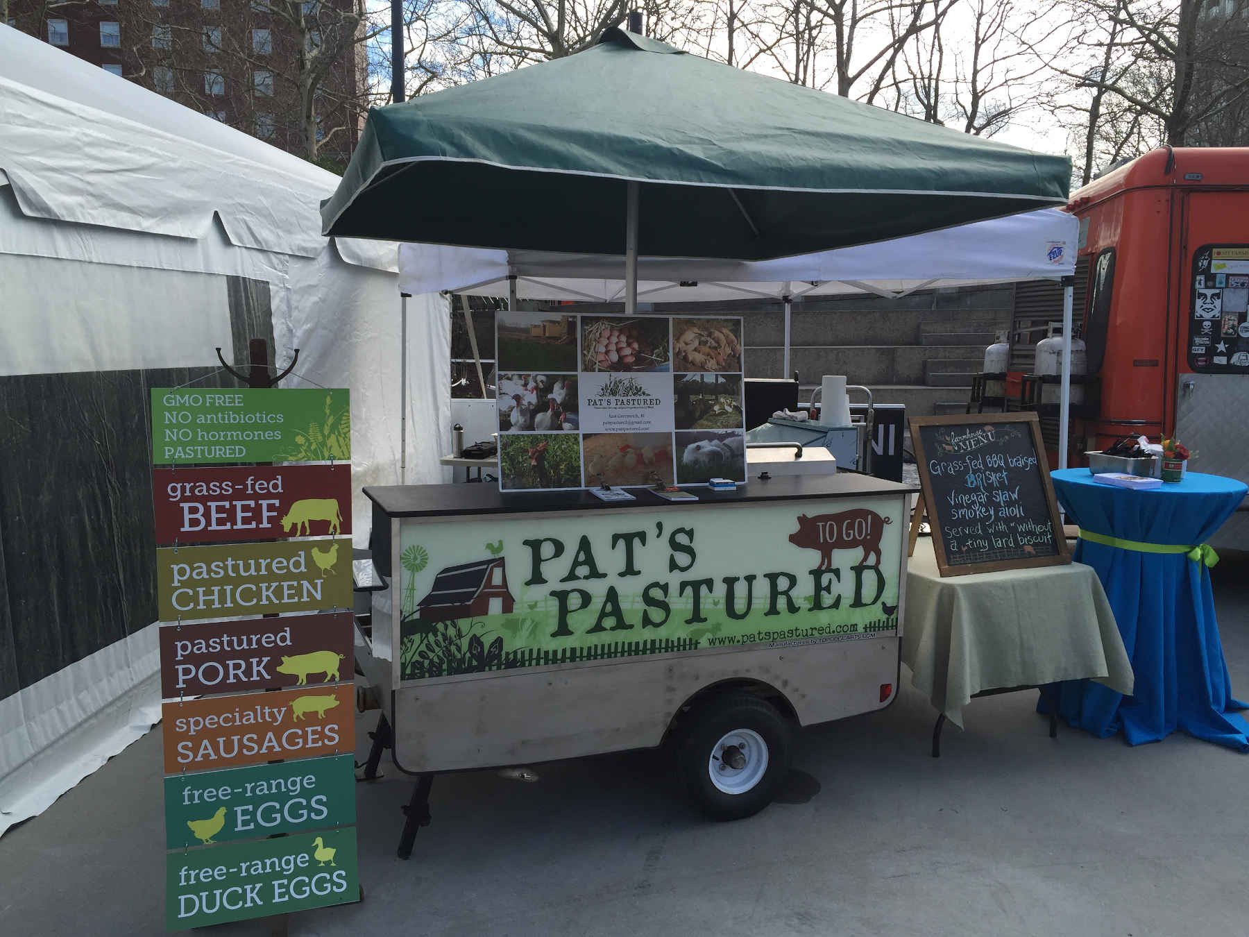 The Pat's Pastured food cart is back on May 8!