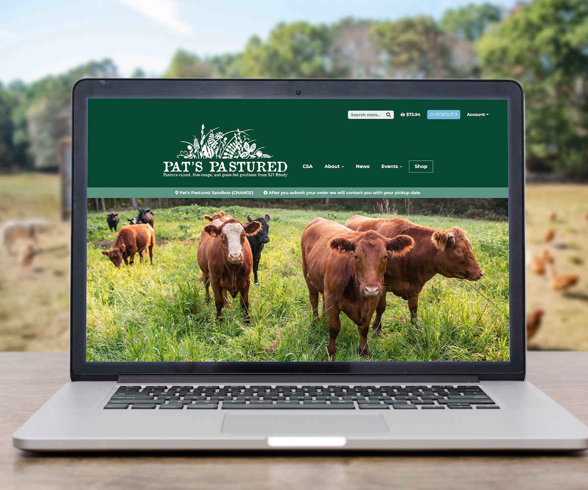 Our new website means easier online ordering for you!