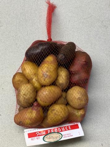 Wishing Stone: RED Potato Bag 3lb