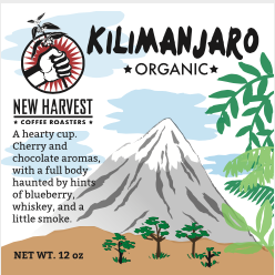 New Harvest OG KIlimanjaro Coffee