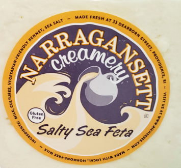 Narragansett Creamery: Salty Sea Feta