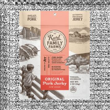 Karl Family Farms Original Pork Jerky Pouch