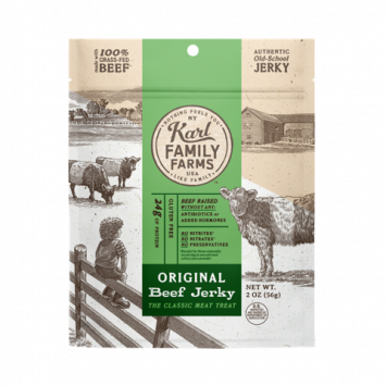 Karl Family Farms Original Beef Jerky Pouch