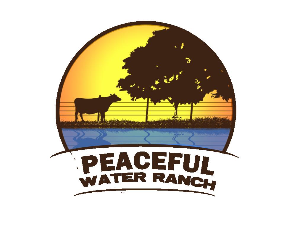 Peaceful Water Ranch Logo