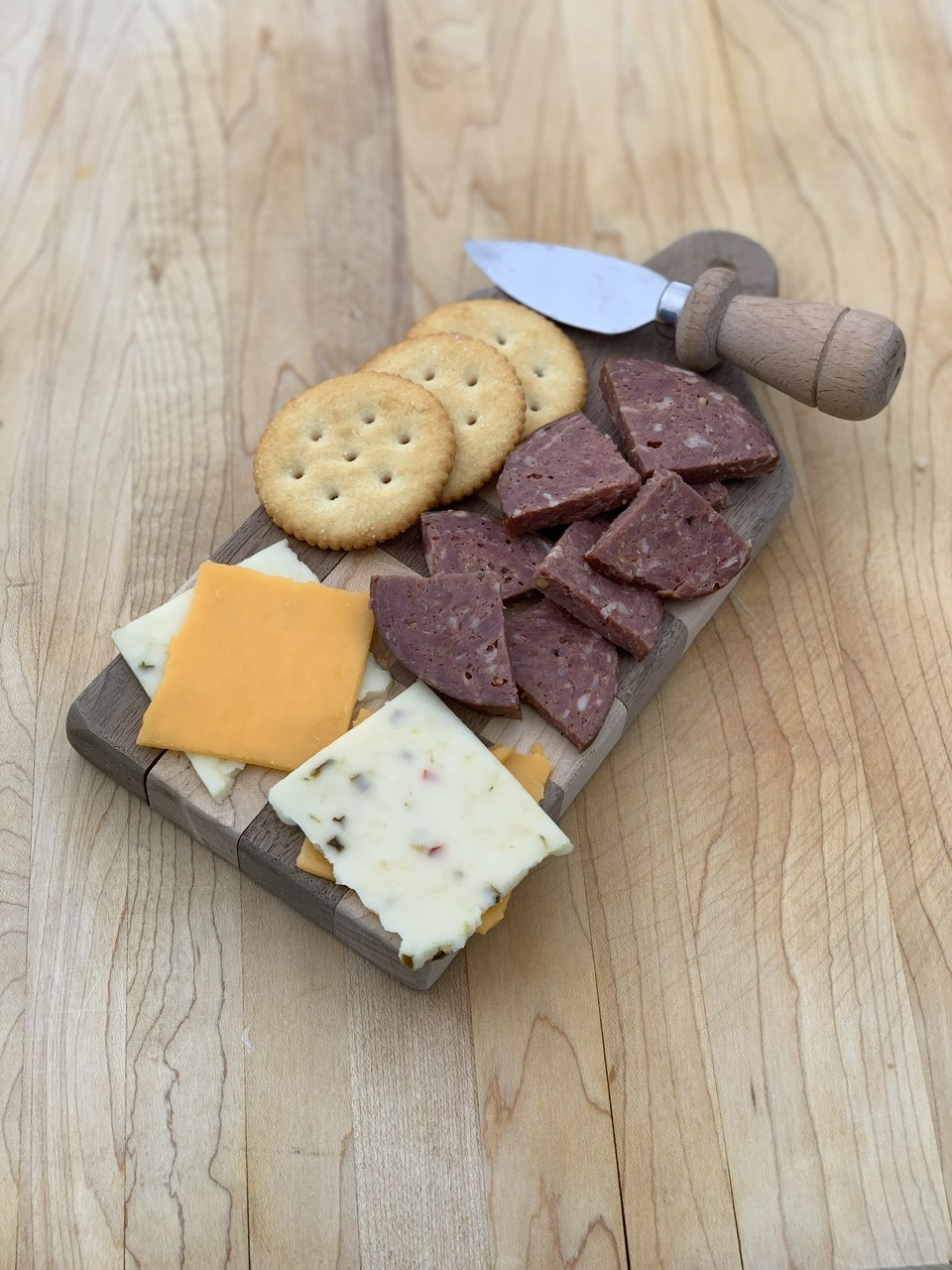 Beef Summer Sausage - Jalapeno & Cheese
