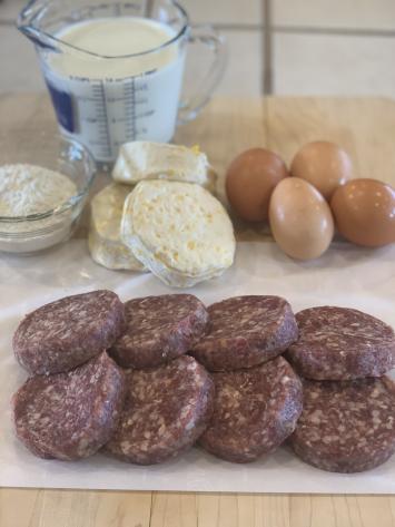 Beef Breakfast Sausage Patties (O-Mild)