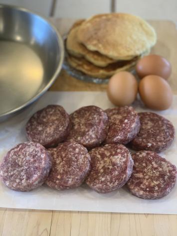 Beef Breakfast Sausage Patties (O-Regular)