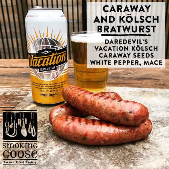 Caraway & Kolsch Beer Bratwurst
