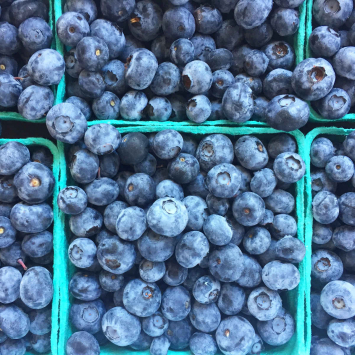 Blueberries, Local