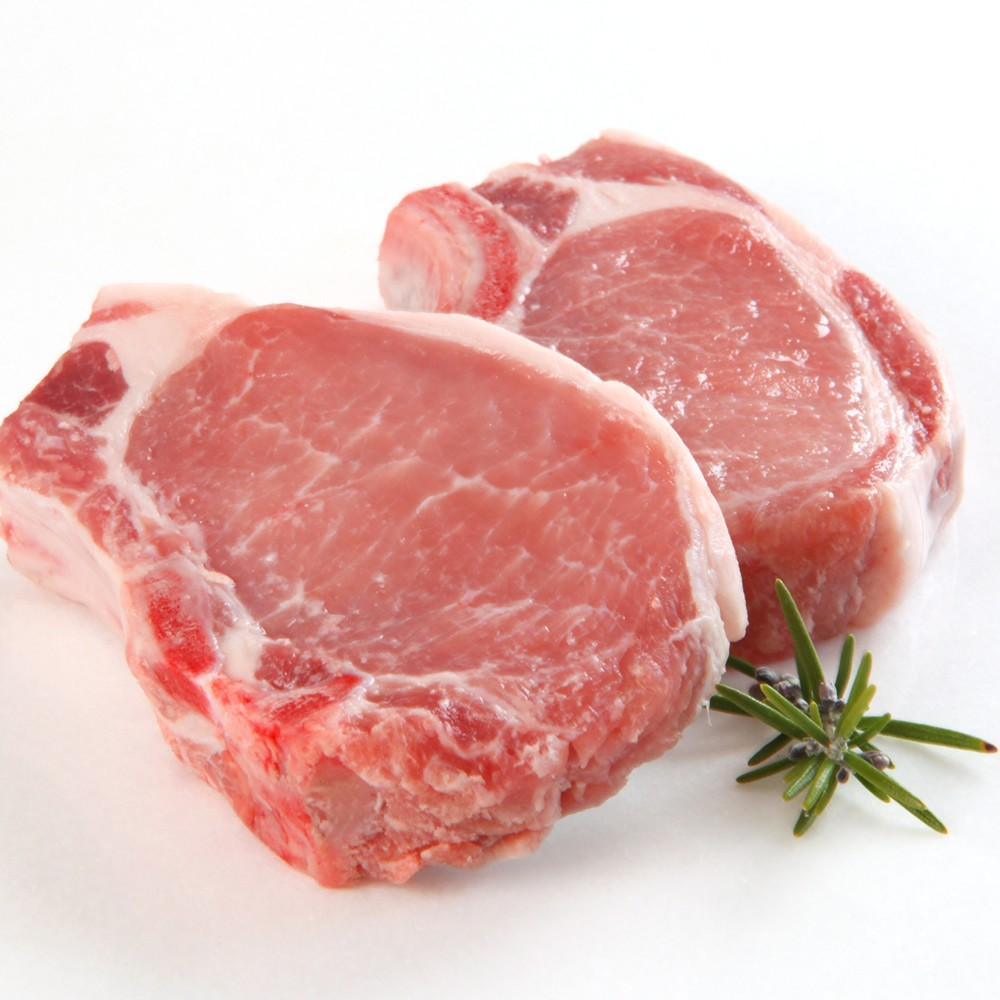 Bone-In Pork Chops (2 per package)