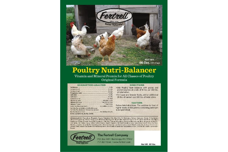 Fertrell Poultry Nutri-Balancer With ME