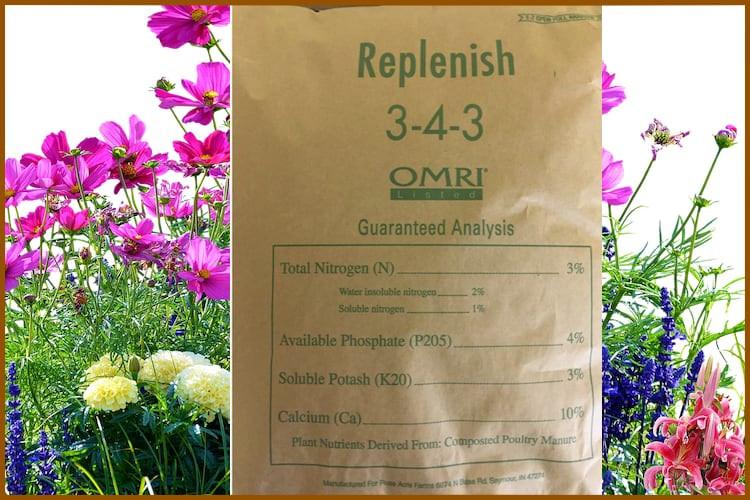 Replenish 3-4-3 Fertilizer