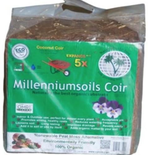 Milleniumsoils 100% Organic Coir