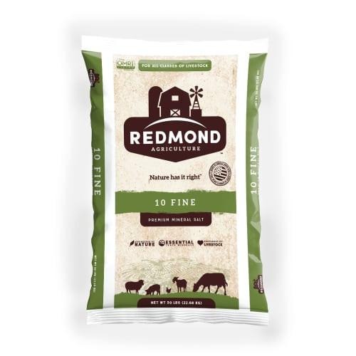 Redmond Natural Trace Mineral (NTM) Salt #10 Fine OMRI