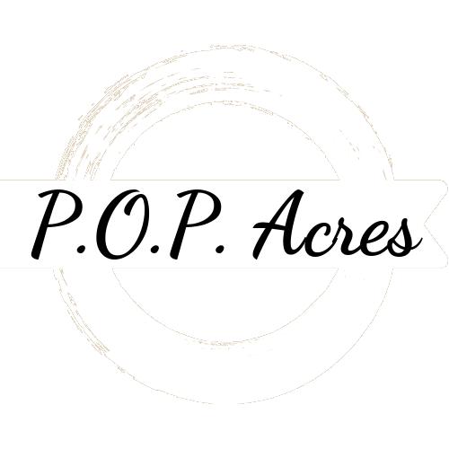 P.O.P. Acres Logo