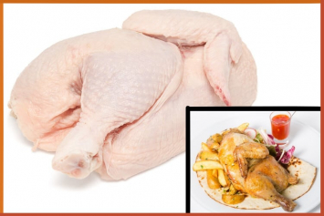 Pastured Chicken Half 2.8-3.399 - Fresh Supply